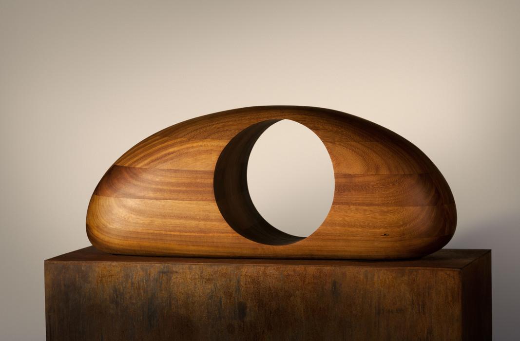 Escultura abstracta contempor nea del artista jorge - Esculturas de madera abstractas ...